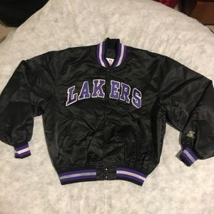 Vintage Starter LA Los Angeles Lakers Jacket NBA